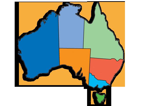 Image map of regions